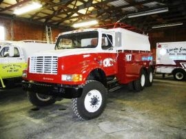 Refurbishing a government surplus truck chassis into a water truck saved this small Lincoln County fire district — and taxpayers — thousands of dollars.