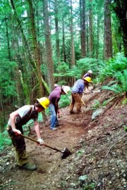 Tiger Mountain State Forest recreation trail maintenance