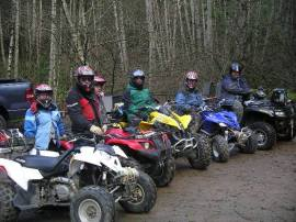 Walker Valley ORV Area, near Mount Vernon, is a 36-mile trail system with 4x4, motorcycle, and even mountain biking and hiking opportunities. Photo/ DNR.