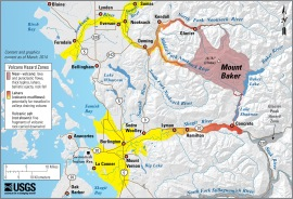 Mount Baker hazards