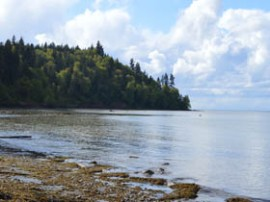 Murdock Beack is a DNR-managed beach access site near Port Angeles. Photo/ DNR.