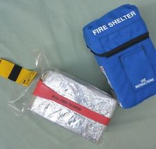 Fire shelters aren't cheap. DNR's Fire District Assistance grant  helps fire districts to  defend Washington against wildfire. Photo DNR