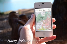 Enjoy DNR-managed lands with the help of our maps available for your smartphone. Photo/ DNR.