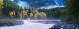 The Nooksack River runs near many DNR forest blocks in Whatcom County. Courtesy photo.