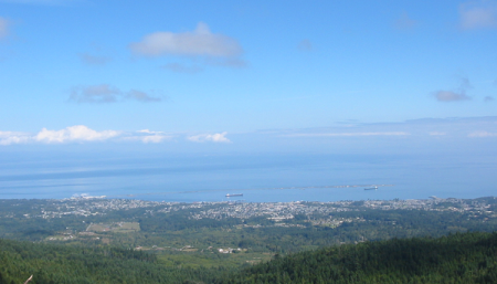 View of Port Angeles