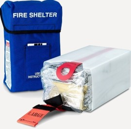 With DNR's Phase 1 Grant, fire districts can acquire personal protective equipment like this fire shelter.