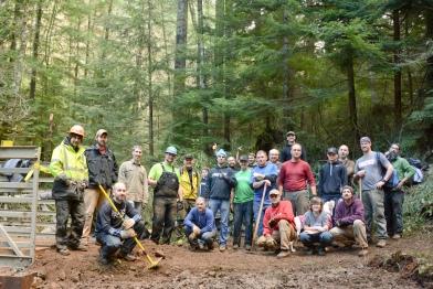 Photo courtesy of Bob Heimbuch, Cold Creek Mountain Bikers Alliance