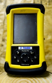 Trimble data collector.