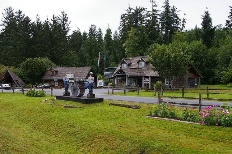 Figure 3. Timber Museum in Forks, WA.