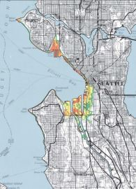 Seattle Inundation Map