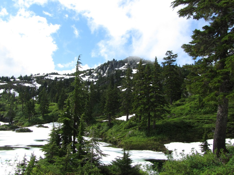 Bald Mountain from Cutthroat Lakes (1)